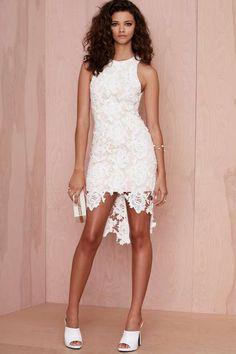 Keepsake I will Wait Lace Dress nastygal.com.au