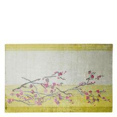 Willow Blossom Lemon Standard Rug