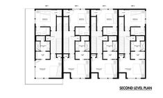 Row House Dimensions Design