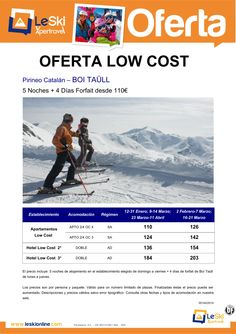 Low Cost Boi Taull 5noches + 4 dias de Forfait desde 110 € ultimo minuto - http://zocotours.com/low-cost-boi-taull-5noches-4-dias-de-forfait-desde-110-e-ultimo-minuto/