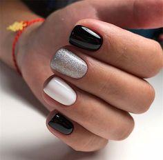 gel nails ideas spring - gel nails + gel nails ideas + gel nails ideas for winter + gel nails designs + gel nails winter + gel nails ideas spring + gel nails natural + gel nails short Simple Gel Nails, Short Gel Nails, Pretty Short Nails, Short Nail Manicure, Stylish Nails, Trendy Nails, Hair And Nails, My Nails, Do It Yourself Nails