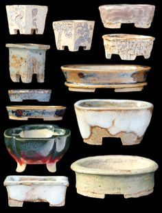 Here are some new and some old pots, the biggest is pictured above, it's 48mm long: