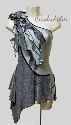 latin dress,salsa dress, dance costume www.crinolinatelier.it