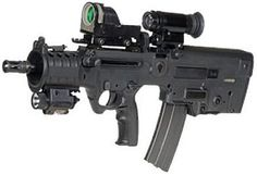 MTAR 21 Micro-Tavor... One day I just might take mounted shooting competitions to a whole new dimension with a Micro...