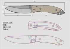 Knife Drawing, Knife Template, Hand Shadows, Diy Knife, Knife Patterns, Plumbing Tools, Neck Knife, Throwing Knives, Best Pocket Knife