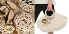 Bolsas con sus manos. Costura y decoración. master tutoriales
