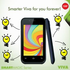Smarter Viva for you forever!  #Rage_Mobiles #SmartMagic_Series  To Know More About Viva : http://goo.gl/p7X7fJ