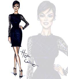 Hayden Williams Fashion Illustrations   KUWTK by Hayden Williams: Kris Jenner