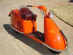 1948 Salsbury scooter