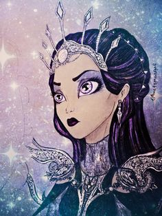 Evil Queen Raven Queen by Muetsmasque