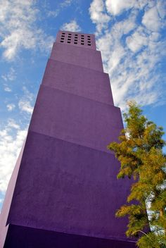 #architecture #color Latino Cultural Center, Designed by Architect Ricardo Legorreta, 2004