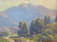 View Mountain landscape by Edgar Alwin Payne on artnet. Browse upcoming and past auction lots by Edgar Alwin Payne. Western Landscape, Mountain Landscape, Impressionist Landscape, Landscape Paintings, Landscapes, Edgar Payne, Classical Realism, American Impressionism, Mountain Paintings