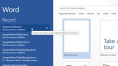 Disable Microsoft Office 2013's Start Screen with This Registry Hack