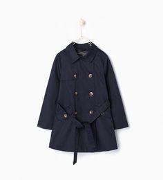 ZARA - KIDS - Trench coat with belt