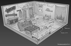 More Old-School RPG Rooms, FZD Term 2 Students