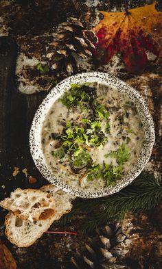 Se paras suppilovahverokeitto | Maku Food Tasting, Palak Paneer, Hummus, Camembert Cheese, Dairy, Favorite Recipes, Cooking, Ethnic Recipes, Taste Food