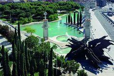 Parc de l'Espanya Industrial. Barcelona (Catalunya - Catalonia)