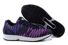 Adidas Men Originals ZX Flux Print Shoes Violet Black Adidas Zx Flux, Adidas Shoes, Adidas Men, Steel Bike Frames, Zapatillas Slip On, Air Max Sneakers, Sneakers Nike, Adidas Originals Zx Flux, Cheap Shoes