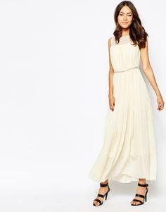 Jovonna+Premier+Butter+Wouldnt+Melt+Maxi+Dress+With+Embellishment