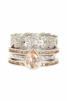 Beyond Rings Etienne Stack Ring Set
