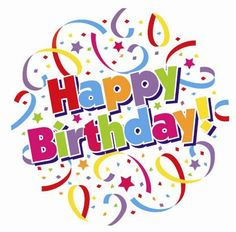 happy birthday clip art happy birthday wishes clip art free rh pinterest com