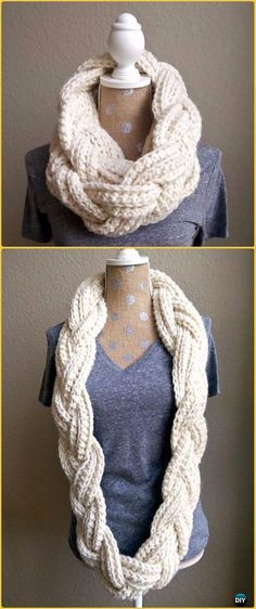 Crochet Braided Infi