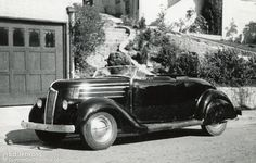 Westergard 1936 Ford convertible
