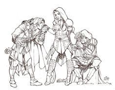 Assassin's Portal - Haha, Leonardo is tweaking.