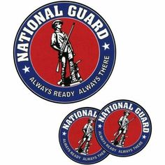 National Guard Tattoos by Innovative Ideas. $1.50. In Stock. Chrome. Temporary Tattoo. 4x7. Express yourself with temporary tattoos. These National Guard temporary tattoos apply easily and are safe and non-toxic. They are made with FDA approved inks and last for days. There are 3 tattoos -- 1 is 2.25x2.25 inches are 2 are 1.25x1.25 inches. Sizes are approximate.