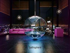 Alexander Zhukovsky- Beautiful and Modern Bathing Space in Sphere Form   Bathsphere