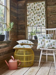 Quirky and characterful, Pick 'n' Mix novelty prints pack fun into everywhere. Bright, playful motifs keep the mood light. How To Make Curtains, Made To Measure Curtains, Nautical Wallpaper, Cottage Wallpaper, Animal Print Wallpaper, Prestigious Textiles, How To Hang Wallpaper, Cosy Corner, Mood Light