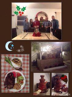 Que manera de sorprender: una casa muy bonita y una cena deliciosa con los amigos del trabajo. Bere s House! 18/12/14