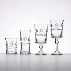 French Perle Barware by Lenox - I'm in love with this glassware.