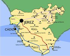 RUTAS DESDE JEREZ DE LA FRONTERA