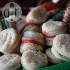 Biscoito amanteigado recheado @ allrecipes.com.br