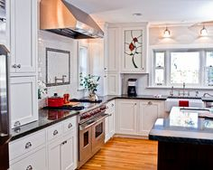 dutch colonial home design pictures remodel decor and ideas kitchen - Colonial Kitchen Ideas