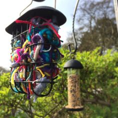 yarn clippings for birds - 736×736