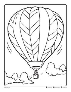 Follow the link below to download this coloring page! http://www.bendonpub.com/upload/coloring-pages/june-2015-balloon.pdf