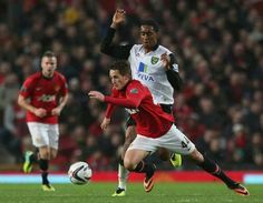 Adnan Januzaj in match against Norwich City in Capital One Cup.