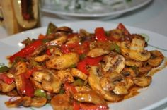 Sauteed Chicken with Mushrooms and Vegetables, – Chicken Recipes