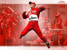 Michael Schumacher, the greatest ever driver in the world!