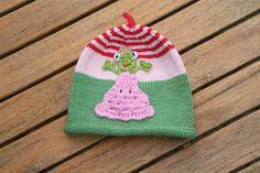 Mützen - Froschprinzessin ♥ Mütze für Babys und Kinder - ein Designerstück von -Wimmelkinder- bei DaWanda