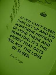 Good idea, but if I do that I will never sleep until I literally pass out from exhaustion! lol