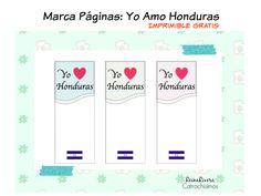 Yo Amo Honduras - Imprimible: Catrachísimos