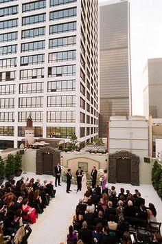 Oviatt Penthouse, Los Angeles, CA. Wedding [ Paul and Katie ] Celebrations Photography | Frame 36 Photography