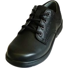 Ricosta Boys Black School Shoes 'Harry' Weit / Wide Fitting jake