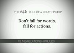 actions speak louder than words Relationship Rules, Relationships Love, Quotes To Live By, Love Quotes, Inspirational Quotes, Actions Speak Louder Than Words, Sex Quotes, Hard Truth, The Hard Way