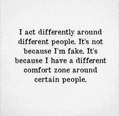 And unfortunately, it's not much of a comfort zone at all