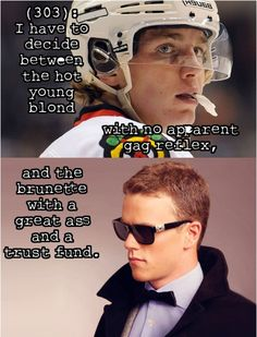 Texts from Last Night, Hockey edition. Patrick Kane & Jonathan Toews Chicago Blackhawks