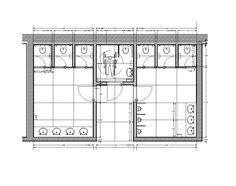 Resultado de imagen de offices toilet layout